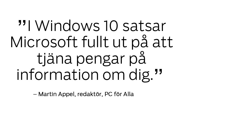 windows10 satsar citat